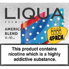 Liqua New American Blend 4 x 10ml