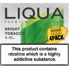 Liqua New Bright Tobacco 4 x 10ml