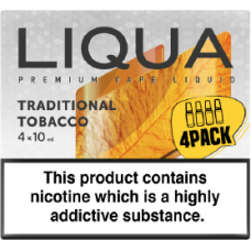 Liqua New Traditional Tobacco 4 x 10ml